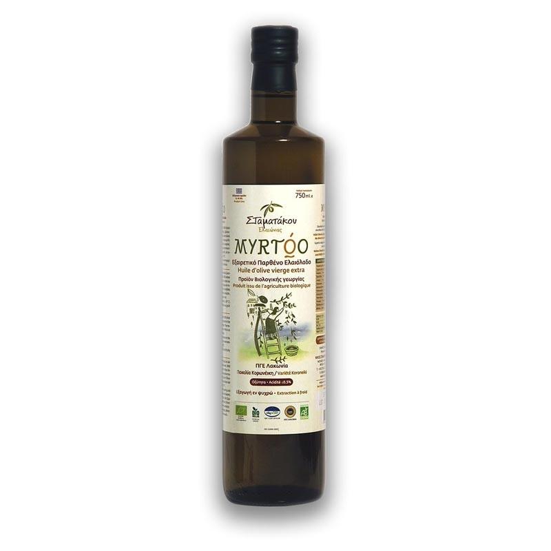 Huile d'olive BIO MYRTOO 75 cl