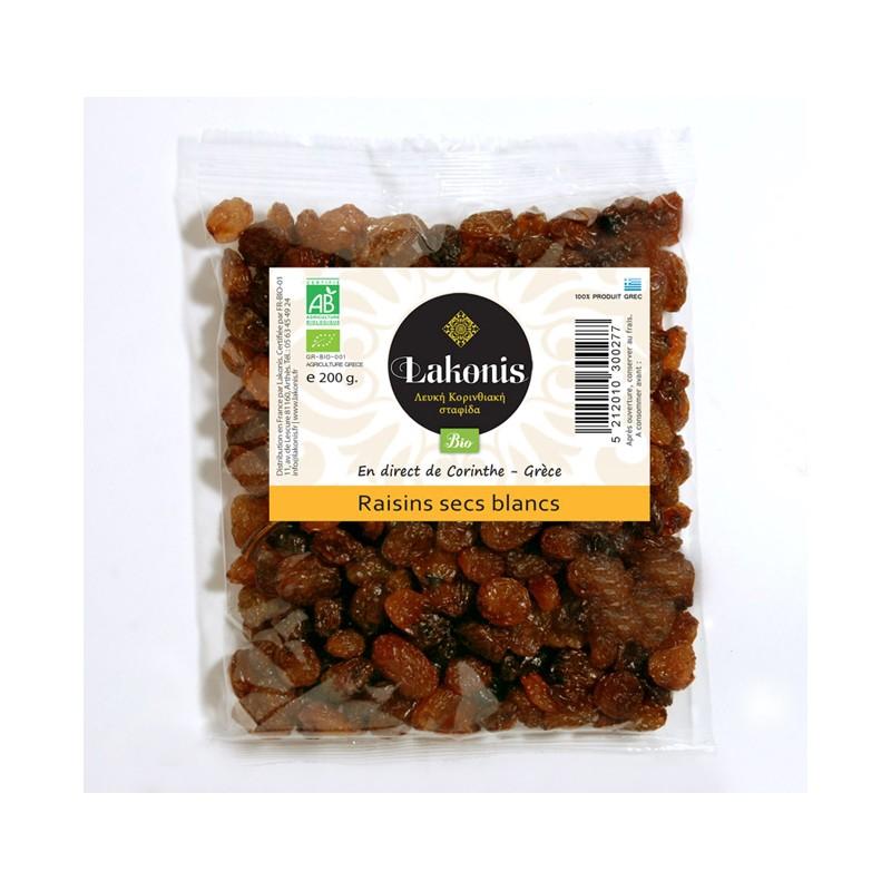 Raisins blancs secs (sultanine) BIO