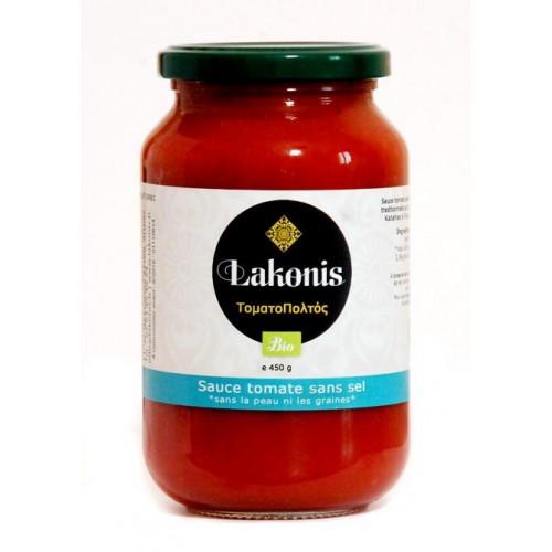Coulis de tomate sans sel, BIO