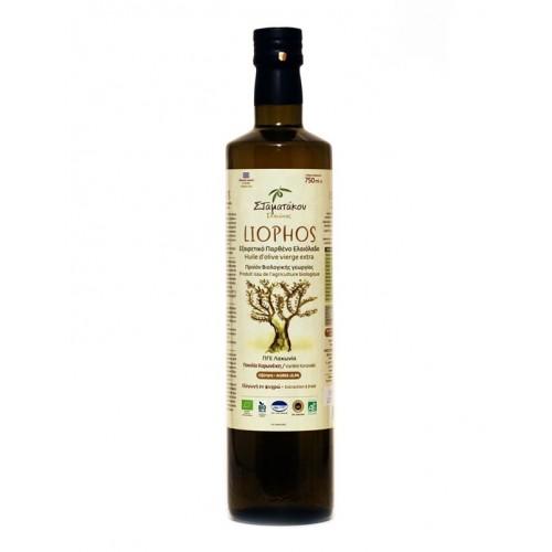 Huile d'olive LIOPHOS 75 cl et 5 L BIO