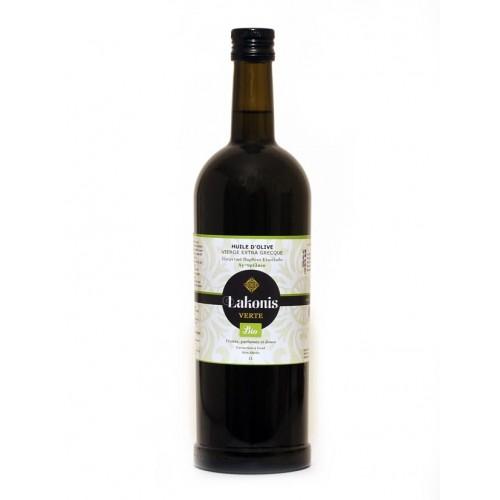 Huile d'olive LAKONIS BIO VERTE 1 et 3 L