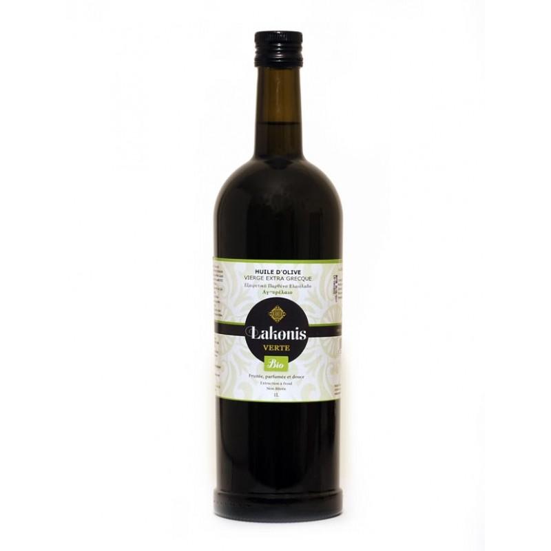 Huile d'olive BIO VERTE 1 et 5 L