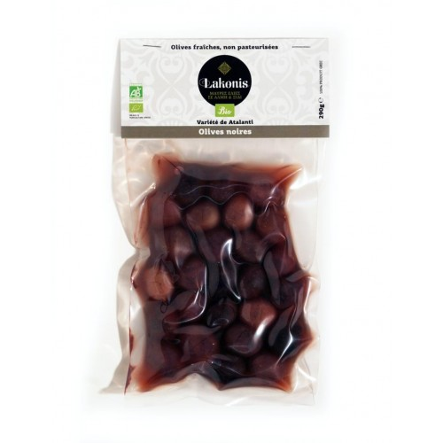 Olives grosses noires BIO