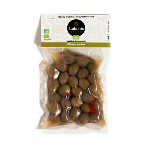 Olives grosses vertes BIO