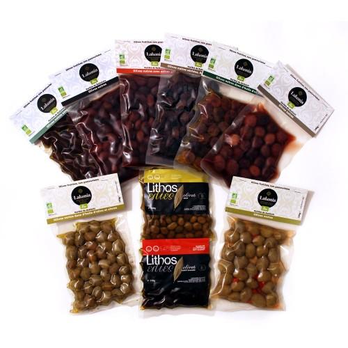 Lot de 10 olives BIO