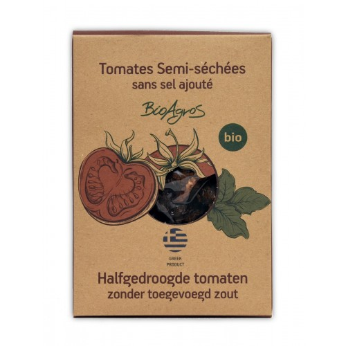 Tomates semi sechées sans sel BIO