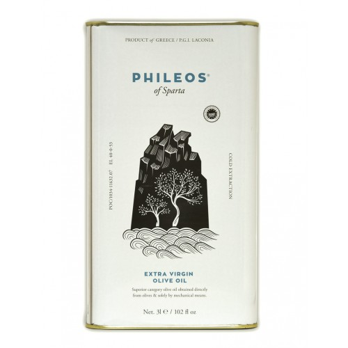 Huile d'olive PHILEOS 3L