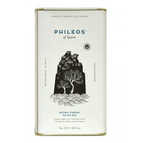 Huile d'olive PHILEOS 3 et 5L