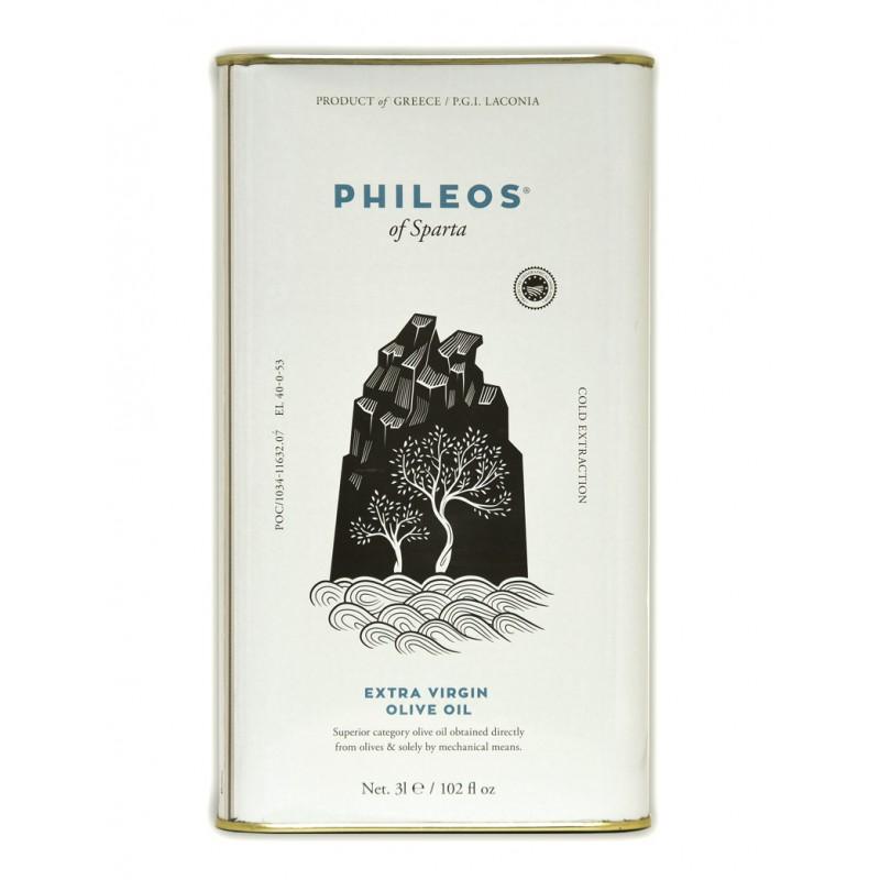 Huile d'olive PHILEOS 3L