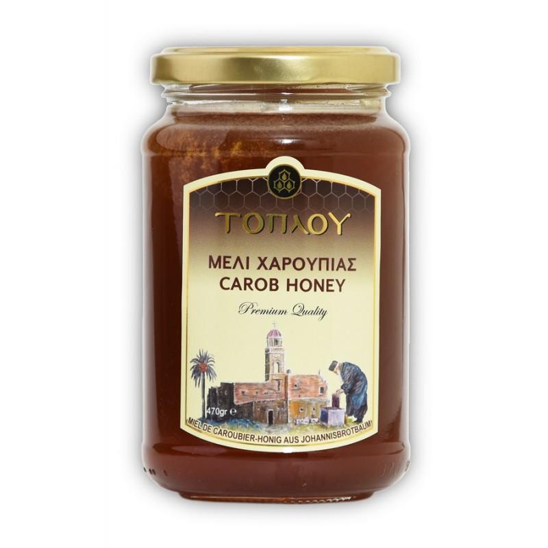 Miel de fleurs de caroubier de Crète
