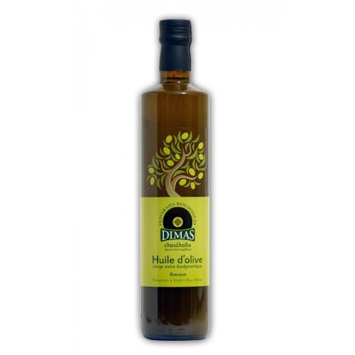 Huile d'olive biodynamique DIMAS 75 cl et 5 L