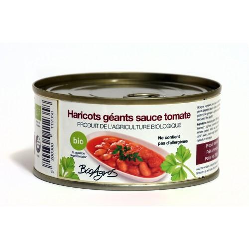 Haricots géants à la sauce tomate - BIO