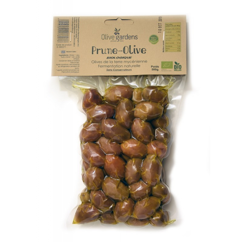 Olives vertes très grosses