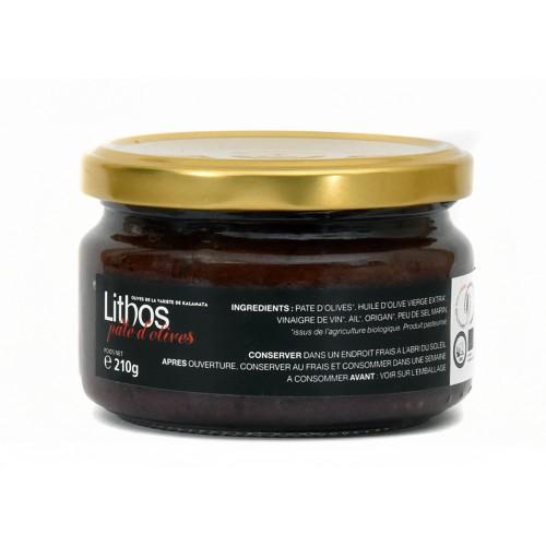 Pâte d'olives noires BIO
