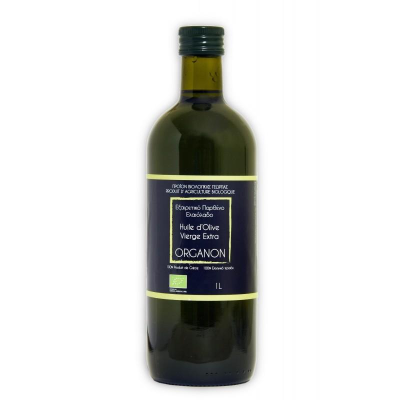 Huile d'olive ORGANON 1L BIO