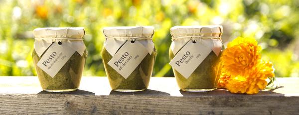 3 pestos francais a l'huile grecque