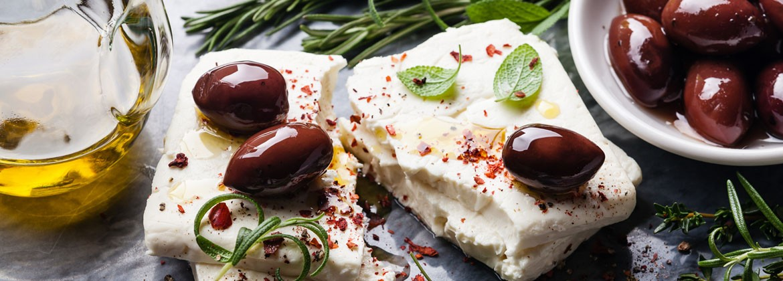 Olives noires et vertes grecques